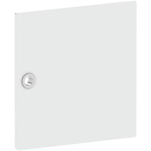 Tür für Regal »System 4« schmal weiß, viasit, 37.5x37.5x1.5 cm