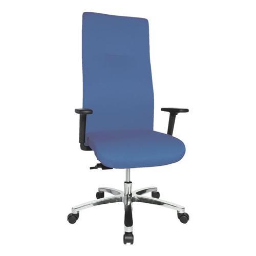 Schwerlast-Bürostuhl »Big Star 30« mit Armlehnen blau, Topstar