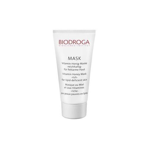 Biodroga Gesichtspflege Mask Vitamin-Honig-Maske 50 ml