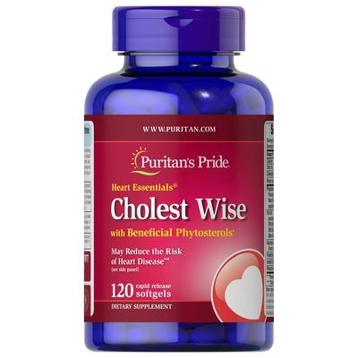 Puritan's Pride Heart Essentials™ Cholest Wise with Plant Sterols-120 Softgels
