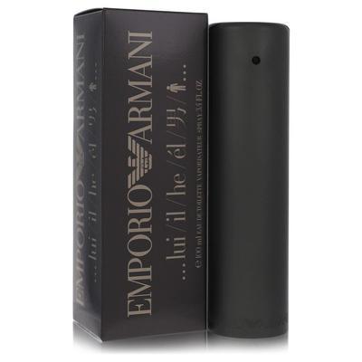 Emporio Armani For Men By Giorgio Armani Eau De Toilette Spray 3.4 Oz