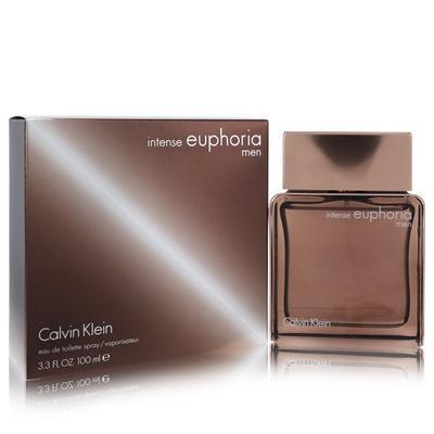 Euphoria Intense For Men By Calvin Klein Eau De Toilette Spray 3.4 Oz