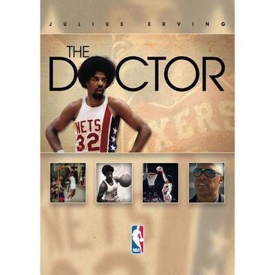 """""""Julius Erving Philadelphia 76ers The Doctor DVD"""""""