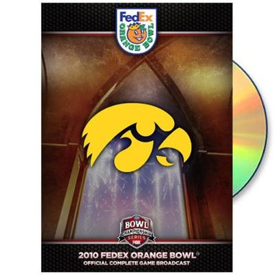 Iowa Hawkeyes 2010 Orange Bowl Champions Official Game DVD