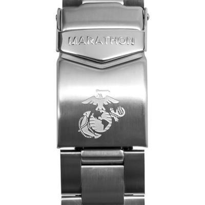 """""""Marathon Watch Watch Accessories Stainless Steel Watch Bracelet 20mm Usmc Stainless Steel"""""""