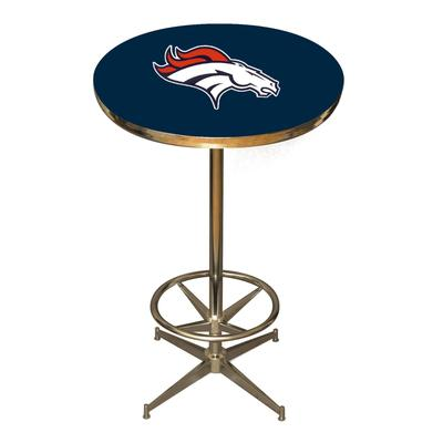 Denver Broncos Blue Pub Table