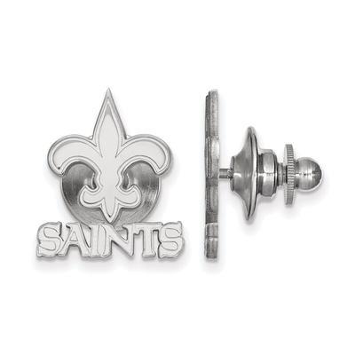 New Orleans Saints Sterling Silver Logo Lapel Pin