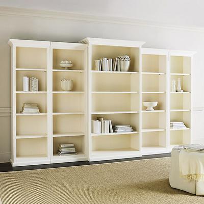 Tuscan 5-Piece Bookcase Set - Ballard Designs