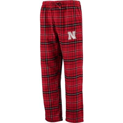 """Concepts Sport Nebraska Huskers Red Big & Tall Ultimate Flannel Pants"""