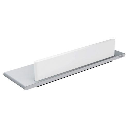 Keuco Duschablage Edition 400 11559, mit Glasabzieher, weiß 11559170000