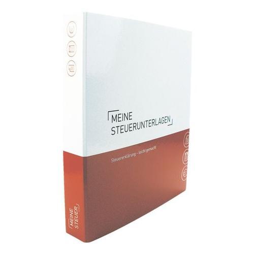 Themenringbuch mit Register »Meine Steuern« rot, OTTO Office, 29.7x31.5 cm