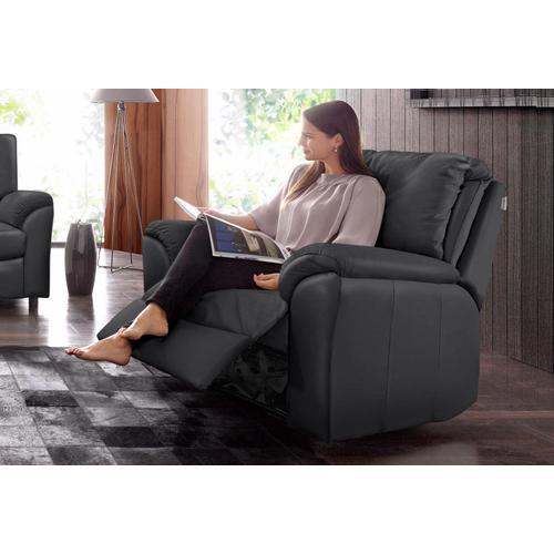 CALIA ITALIA Relaxsessel CS Mark, mit manueller Einstellung schwarz Sessel