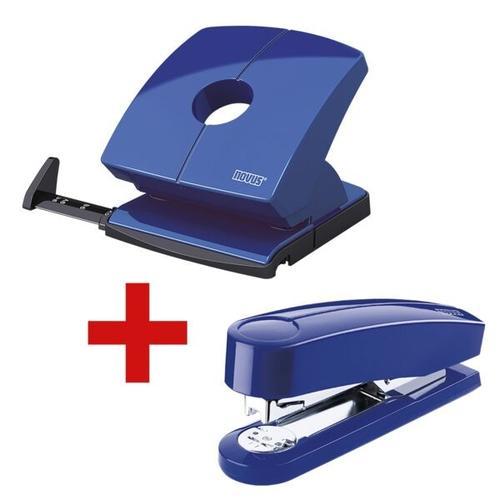 Locher-Tacker-Büroset »B230 & B4« blau, Novus