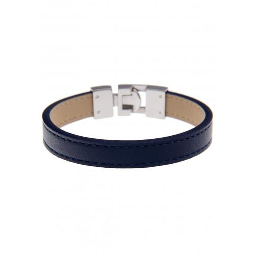 leslii Armband, im modischen Look silberfarben Damen Lederarmbänder Armbänder Schmuck Armband