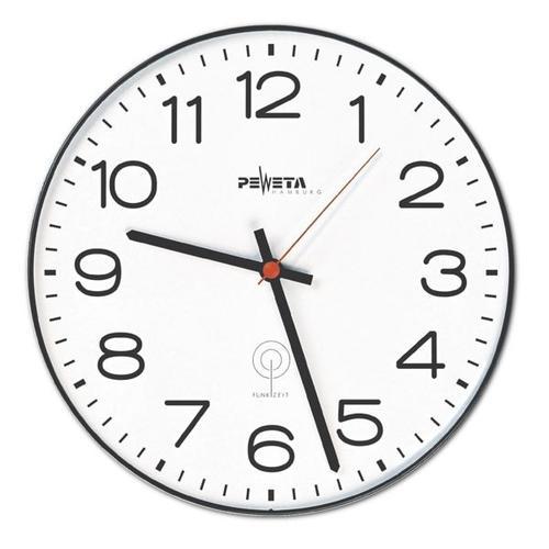 Funk-Wanduhr 51.115.312 Ø 30 cm, Peweta Uhren