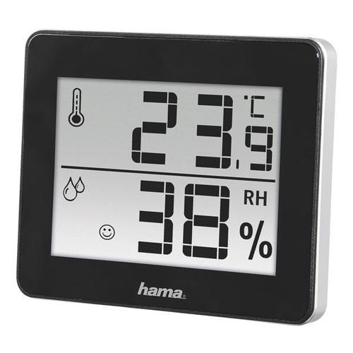 Thermo-/Hygrometer »TH-130«, Hama, 10x8.2x1.1 cm