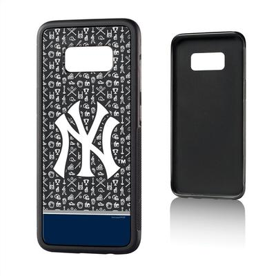 New York Yankees Galaxy S8 Stripe Logo Bump Case