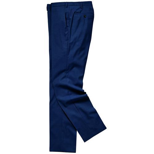 Mey & Edlich Herren Hose Blitzeblau Dynamic-Anzughose blau 102, 106, 110, 24, 25, 26, 27, 46, 48, 50, 52, 54, 56, 58, 98