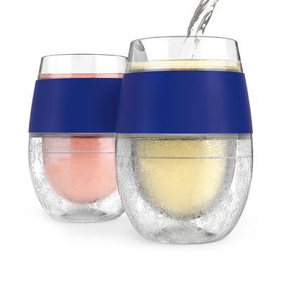 Set of 2 FREEZE Cooling Wine Gla...