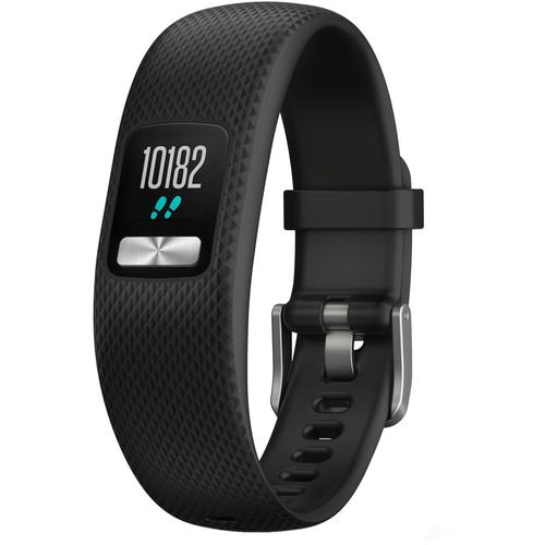Garmin Vivofit 4 Fitness Tracker in black, Größe L