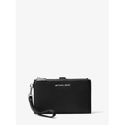 Michael Kors Adele Leather Smartphone Wallet Black One Size
