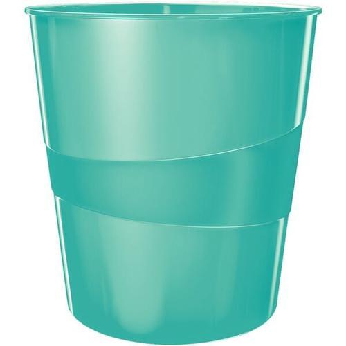 Papierkorb »WOW 5278« blau, Leitz, 29x32.4 cm