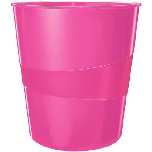 Papierkorb »WOW 5278« pink, Leitz, 29x32.4 cm