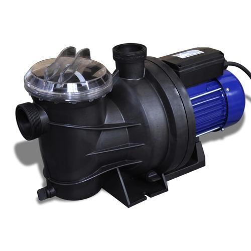 vidaXL Schwimmbadpumpe Umwälzpumpe Poolpumpe Pumpe elektronik blau 1200W