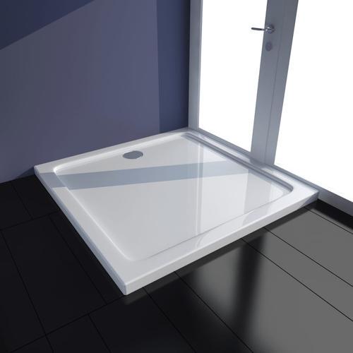 vidaXL Duschtasse ABS Rechteckig Weiß 70×100 cm