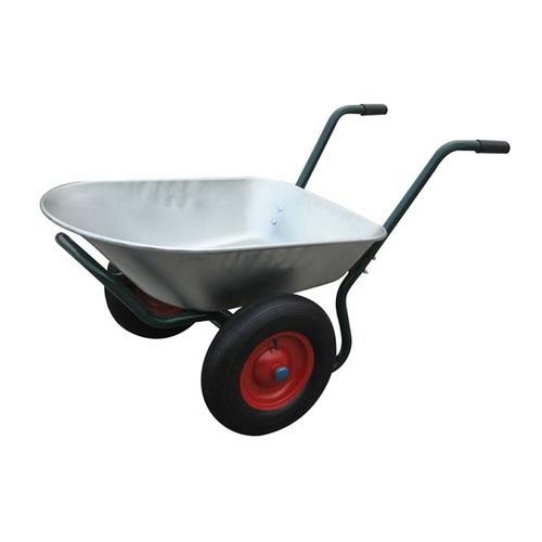vidaXL Gartengerät Zweirad-Schubkarre 66 L