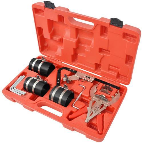 vidaXL 11-tlg. Kolbenring Spannband Set