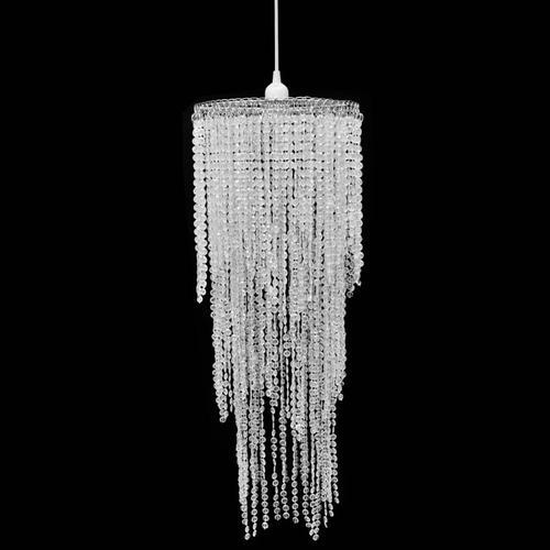 vidaXL Kristall Anhänger Kronlampe 26 x 70 cm
