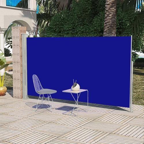 vidaXL Terrassenmarkise Seitenmarkise 160 x 300 cm Blau