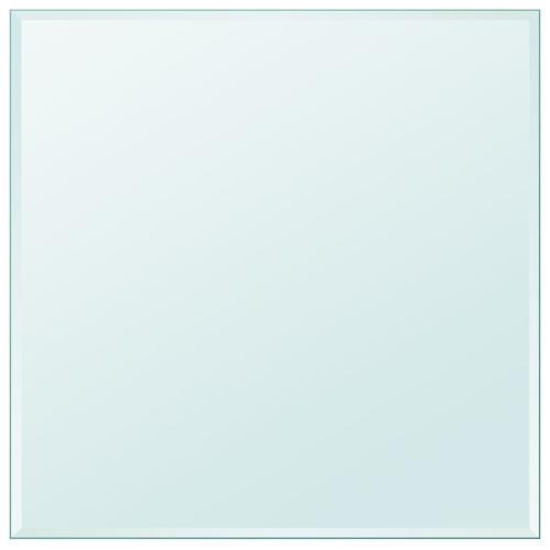 vidaXL Tischplatte aus gehärtetem Glas quadratisch 700x700 mm
