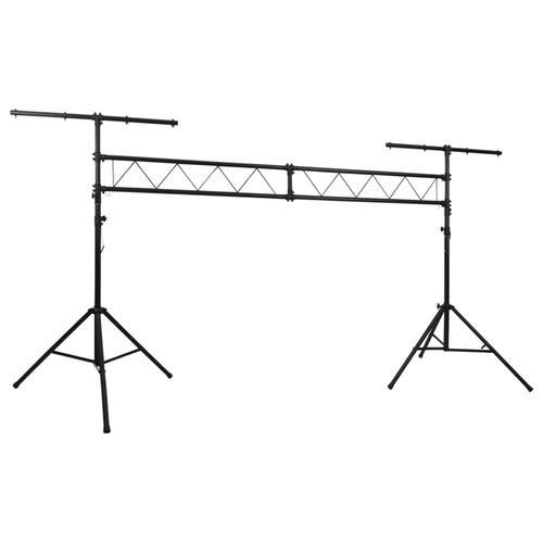 vidaXL Tragbares Licht-Traversen-System mit 2 Stativen 3 m