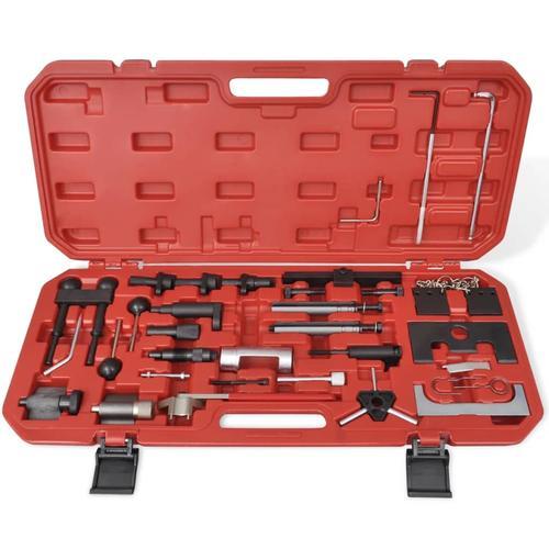 vidaXL Werkzeug Zahnriemen Spezialwerkzeug Audi, VW, Ford, Volvo