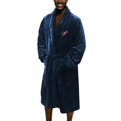 Men's Houston Texans The Northwest Company Navy Silk Touch Robe