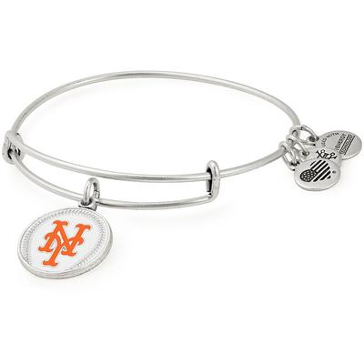 New York Mets Alex & Ani Women's Stack Bracelet