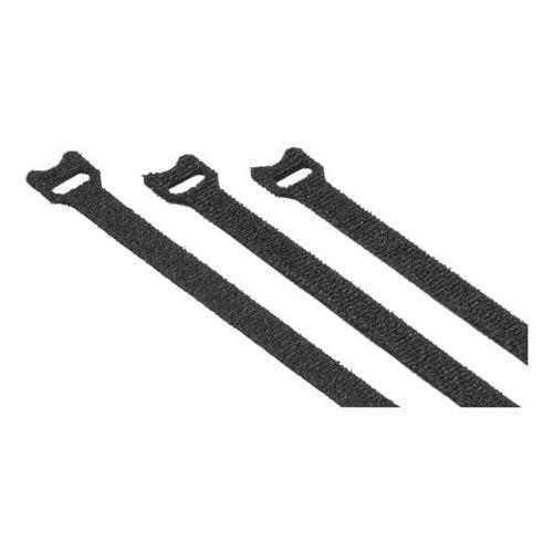 Klett-Kabelbinder »12x200 mm« - 20 Stück schwarz, Hama