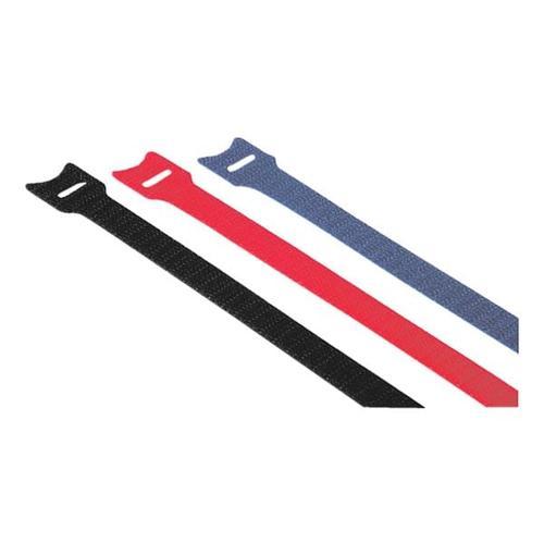Klett-Kabelbinder »12x145 mm« - 12 Stück schwarz, Hama