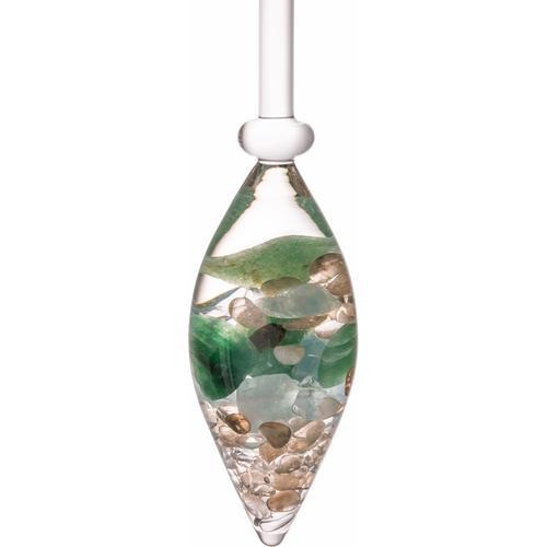 VitaJuwel Mineralstein Edelsteinphiole Forever, Aquamarin - Aventurin Rauchquarz Bergkristall bunt Mineralsteine Gesundheitsprodukte Körperpflege Gesundheit