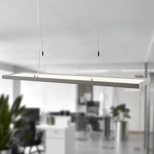 Dimmbare LED-Office-Hängeleuchte Divia