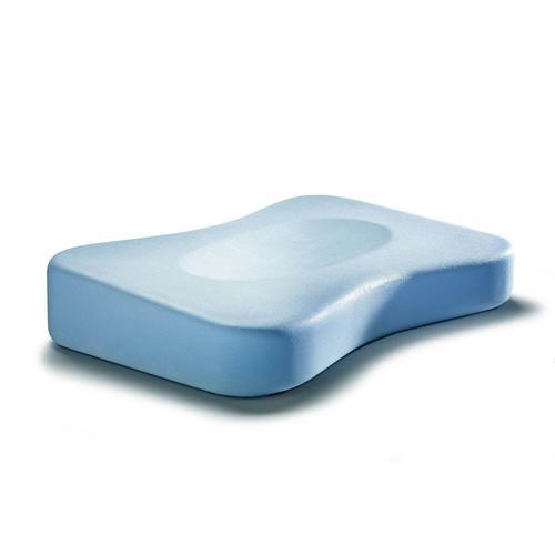Swissflex® Nackenstützkissen SF10 Gomtex blue Flach 6,5/9,5 cm