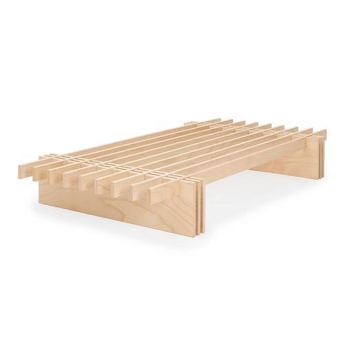 Tojo Parallel Bett B200 cm x L200 cm x H25 cm