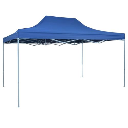 vidaXL Faltzelt Pop-Up 3 x 4,5 m Blau