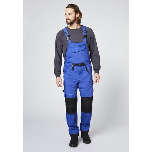 Expand Herren Latzhose blau Latzhosen Arbeitshosen Arbeits- Berufsbekleidung Hosen lang