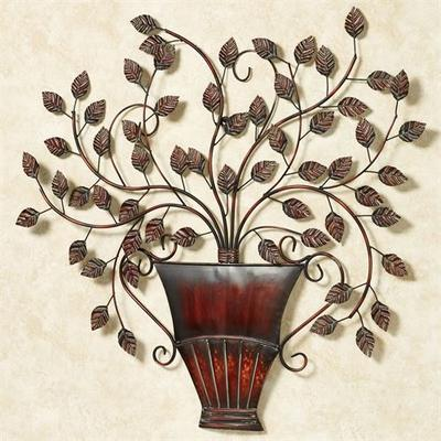 Serene Boughs Wall Art , Verdi Bronze