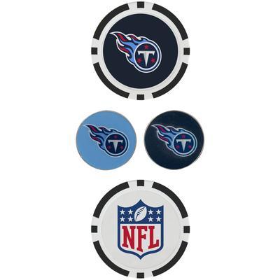 Tennessee Titans Ball Marker Set