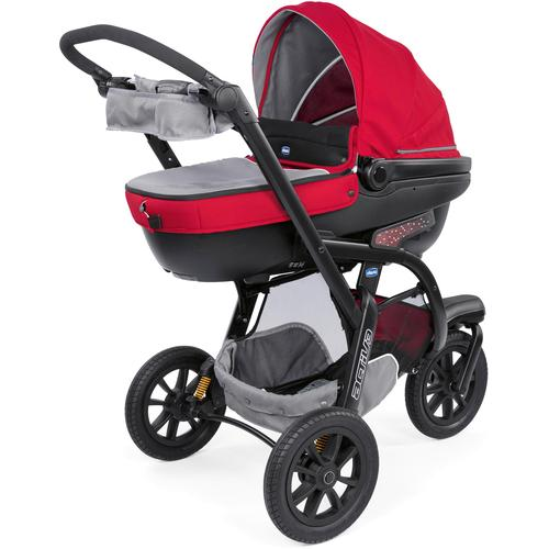 Chicco Kombi-Kinderwagen Trio-System Activ3 Top, Red Berry, mit Regenschutz; Kinderwagen rot Kinder Kombikinderwagen Buggies