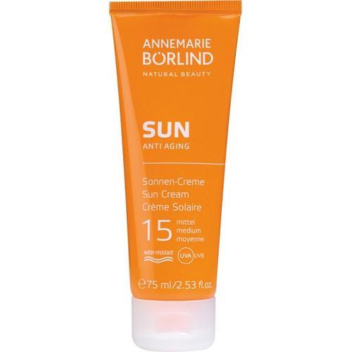 Annemarie Börlind SUN ANTI AGING Sonnen-Creme LSF 15 75 ml Sonnencreme